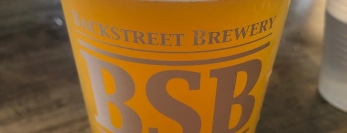Backstreet Brewery is one of Orange County.