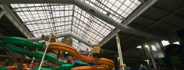 Kalahari Water Park is one of Lizzieさんの保存済みスポット.
