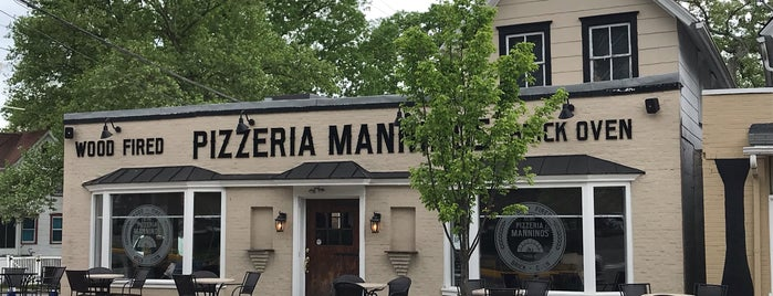 Mannino's Wood Fired Pizza is one of NJ Pizza.