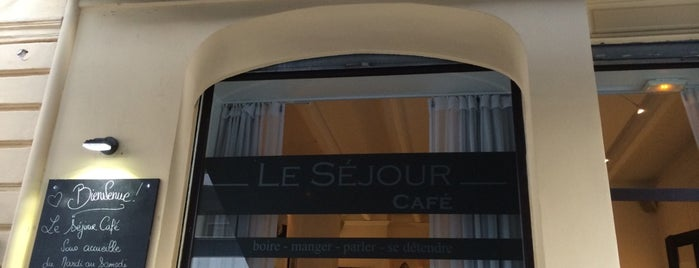 Le Séjour Café is one of Lugares guardados de Patrick.