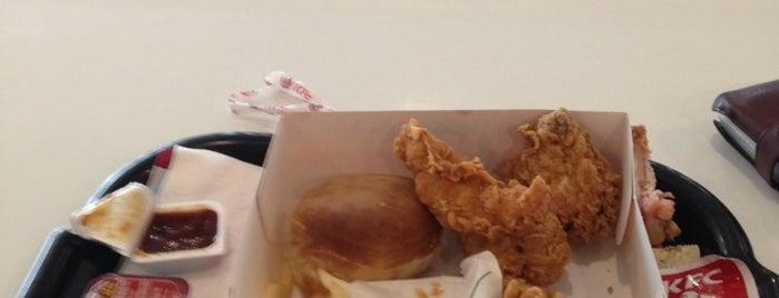 KFC is one of restaurantlar.