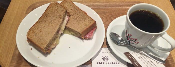 CAFE LEXCEL is one of Yokohama.