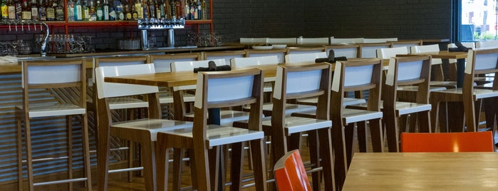 Brightmarten Restaurant & Bar is one of Passbook Eats.