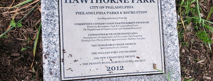 Hawthorne Park is one of Philadelphia To-Do.