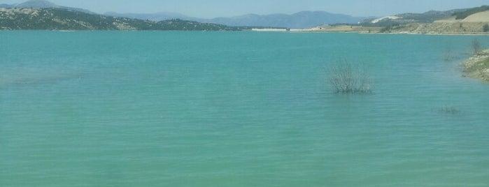Karaçal Barajı is one of burdur.
