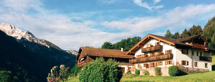 Kainzierlhof is one of Nationalpark Berchtesgaden.