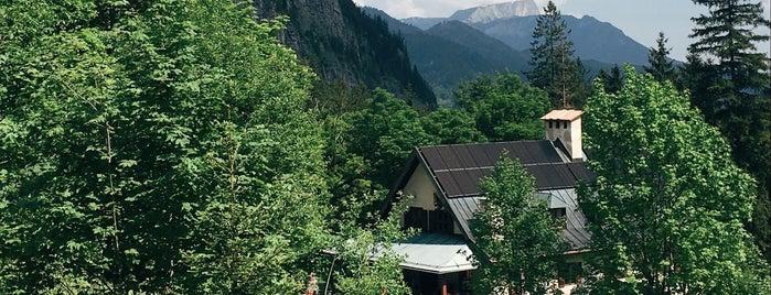 Wimbachschloss is one of Nationalpark Berchtesgaden.