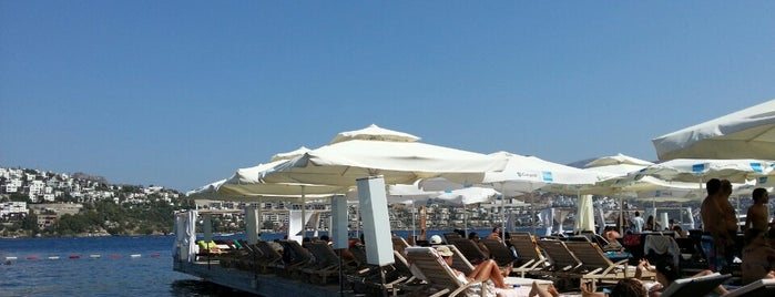 Küba Beach & Restaurant is one of Bodrum - List -.