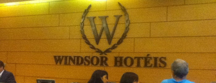 Windsor Guanabara Hotel is one of Locais curtidos por Joao.