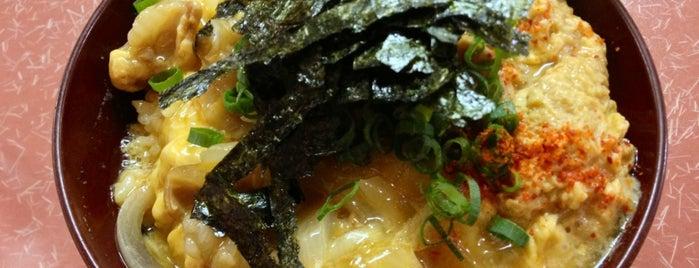 どんぶりマルナカ is one of 美味しい.