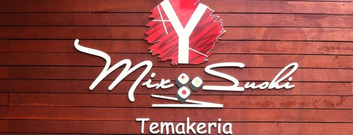 MIX SUSHI TEMAKERIA is one of Orte, die Mayara gefallen.