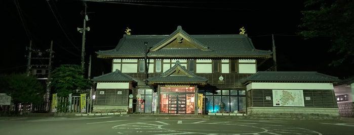 Mamurogawa Station is one of JR 미나미토호쿠지방역 (JR 南東北地方の駅).