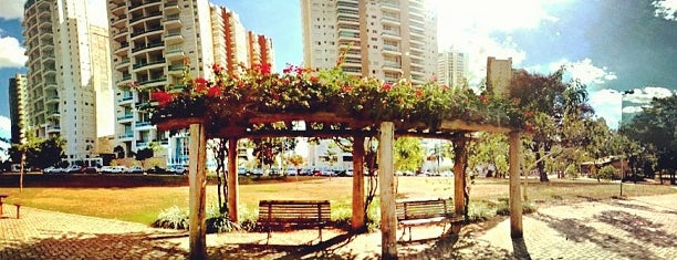 Parque Municipal Flamboyant is one of Orte, die Fernando gefallen.