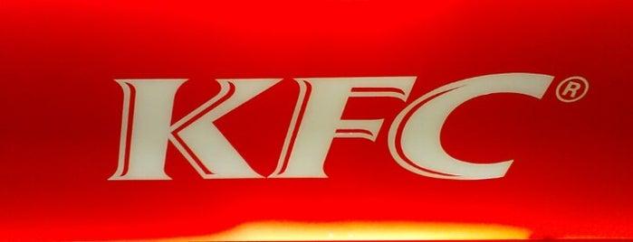 KFC is one of Orte, die Pedro gefallen.