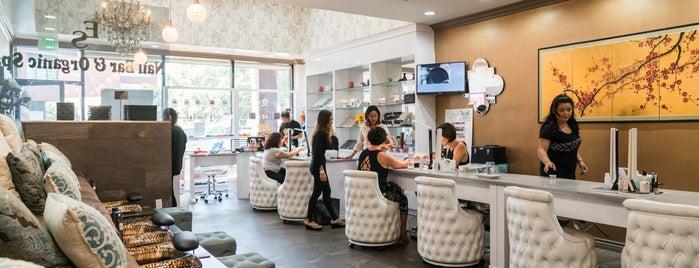 ES Nail Bar & Organic Spa is one of California!.