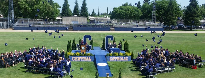Central Catholic High school is one of work.