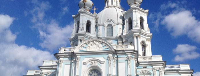 Smolny Cathedral is one of Russia.