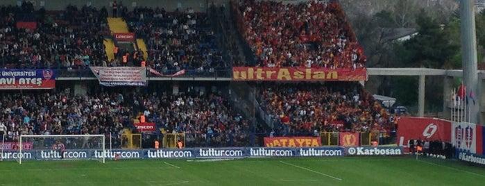 Dr. Necmettin Şeyhoğlu Stadı is one of Türkiye Süper Lig Stadyumu (Season 2013-2014).