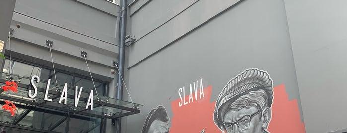 Slava Restaurant is one of Lieux qui ont plu à Dmitriy.