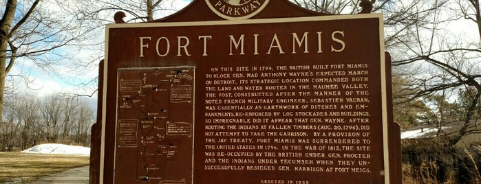 Fort Miamis National Historic Site is one of Lieux qui ont plu à John.