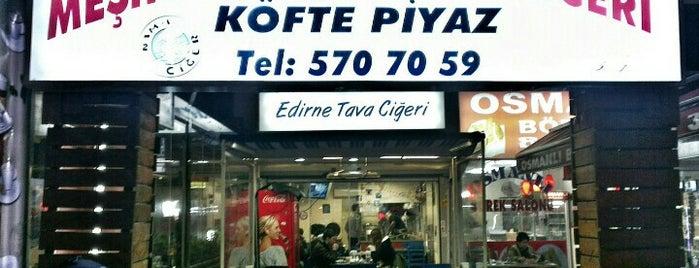 Nam-ı Ciğer Edirne Tava Ciğeri is one of İstanbul Lezzet Dorukları.