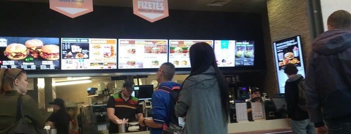 Burger King is one of สถานที่ที่ Adam ถูกใจ.