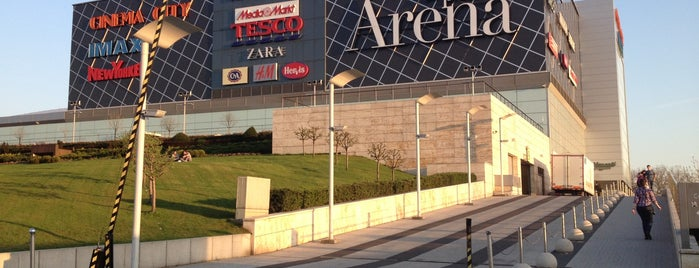 Arena Mall is one of Orte, die Adam gefallen.