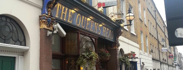 The Queen's Head is one of London's Best for Beer.
