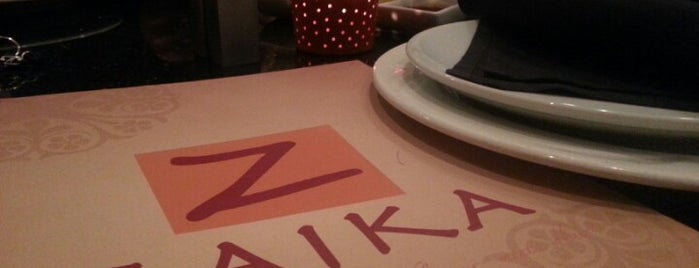 Zaika is one of Virginia restaurants.