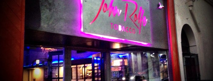 John Rolfe Cigar Bar is one of Cigar Friendly Tampa Bay.