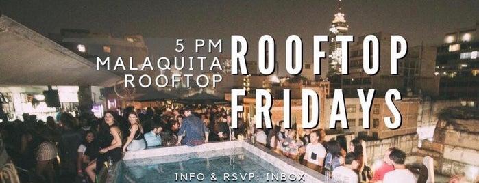 Malaquita Rooftop is one of Tempat yang Disukai Soy.