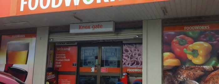 Foodworks Knoxgate is one of Jonathon Tan.