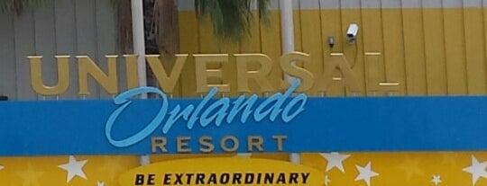 Universal Employee Parking Lot is one of Universal Studios.