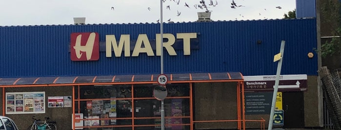 H Mart is one of London4.