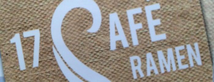 17 Cafe Ramen is one of OC.
