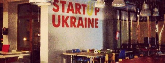 Startup Ukraine is one of Anton : понравившиеся места.