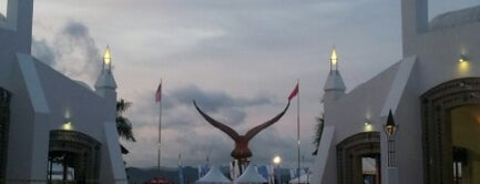 Eagle Square (Dataran Lang) is one of LANGKAWI PLACES.