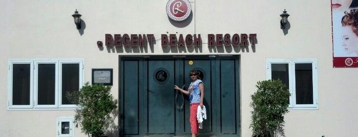 Regent Beach Resort is one of Oskarpeterson : понравившиеся места.