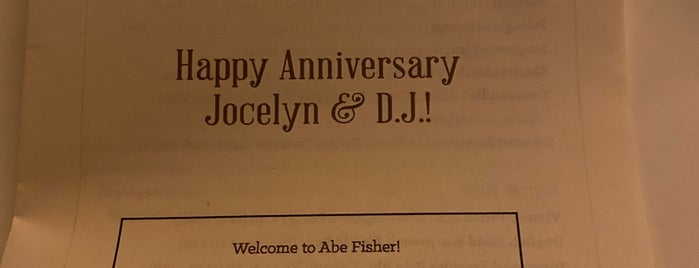 Abe Fisher is one of Philly Happy Hour.