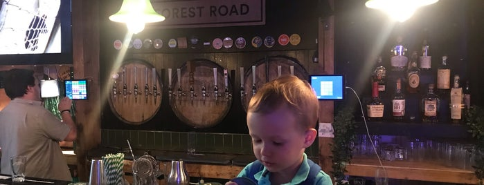 Forest Road Brewing Co is one of Cole's London Favorites.