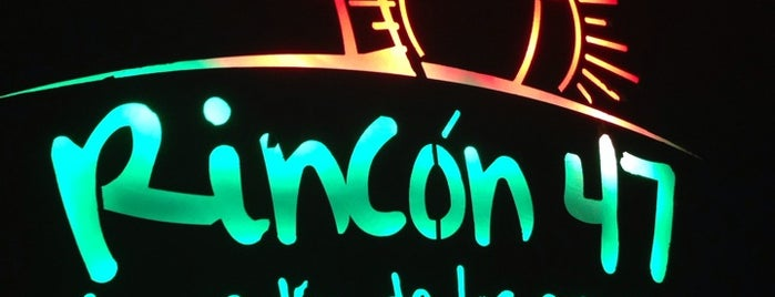 Rincon 47 is one of Lugares favoritos de Caro.