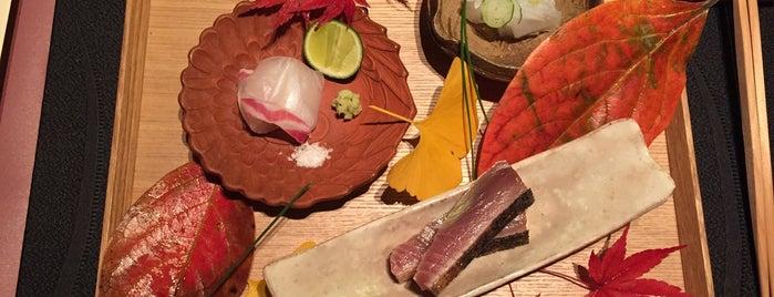 RyuGin is one of The World's 50 Best Restaurants.