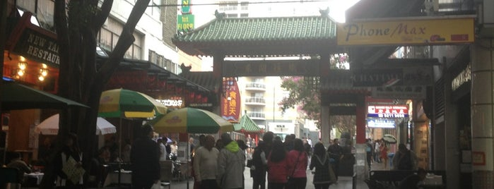 Chinatown is one of Sydney in 6 Days.