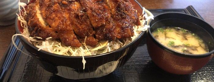 御食事処 すが野 is one of 駒ヶ根ソースカツ丼会加盟店.