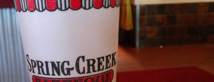 Spring Creek Barbeque is one of Eats.