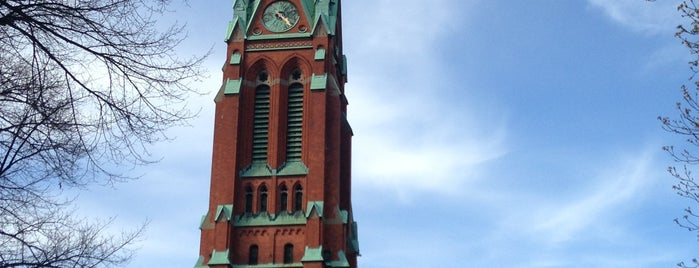 S:t Johannes kyrka is one of Stockholm.