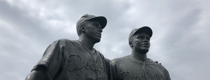 Jackie Robinson and Pee Wee Reese Monument is one of NYC Places II (Sightseeing).