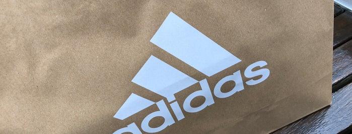 adidas is one of Del'in Beğendiği Mekanlar.