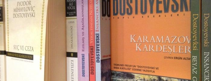 Dost Kitabevi is one of Özgür Yaşarさんの保存済みスポット.