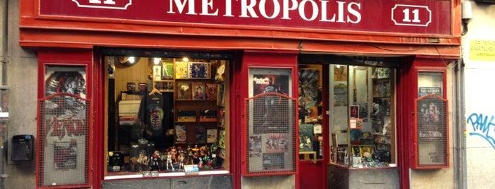 Metrópolis is one of La ruta del cómic (Madrid).